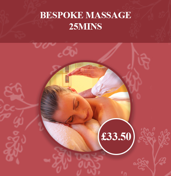 Bespoke Massage 25mins v2