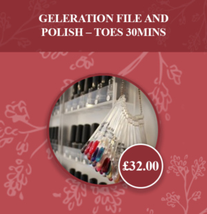 GELeration File & Polish – Toes 30mins v2