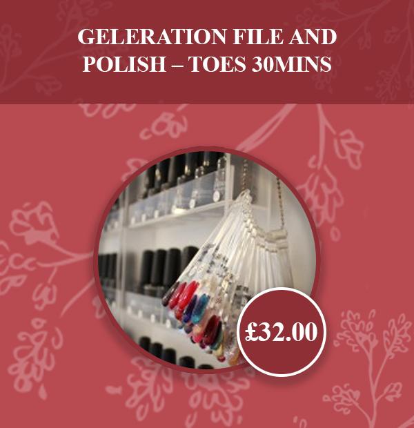 GELeration File & Polish – Toes 30mins v2