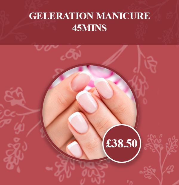 GELeration Manicure 45mins# v2