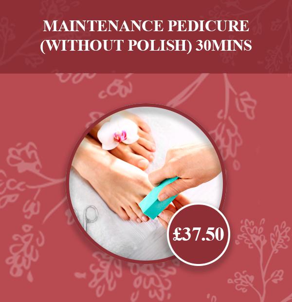 Maintenance Pedicure (without polish) 30mins v2