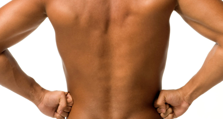 Lower Back Wax