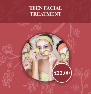teen facial treatment